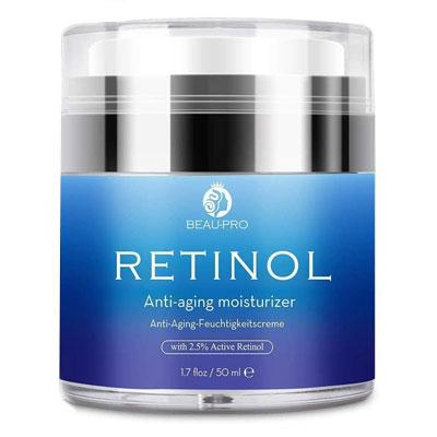 Beau-Pro - Crema Hidratante con Retinol para Día y Noche