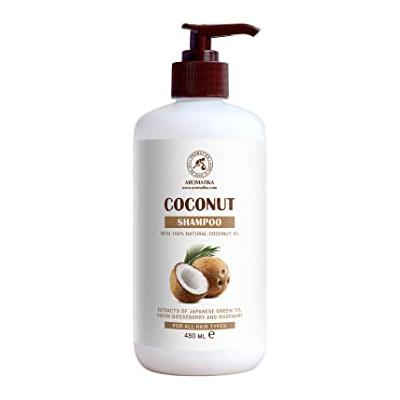 Champú de Coco 480 ml - con Aceite de Coco 100% Na