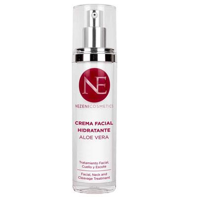Crema Facial Aloe Vera Nezeni Cosmetics