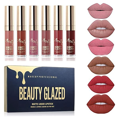 Kissing Matte Liquid Lipstick – Beauty Glazed