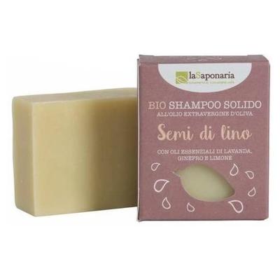 La Saponaria - Champú sólido con semillas de lino