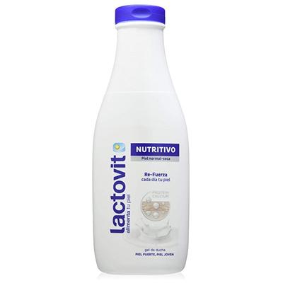 Lactovit - Gel de Baño, Gel Nutritivo, Delicado