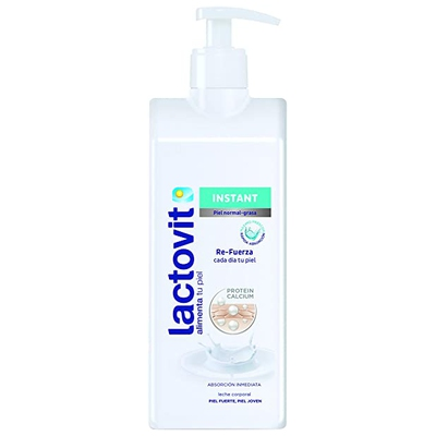 Lactovit - Leche Corporal Instant con Protein Calcio