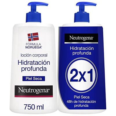 Neutrogena Crema Hidratante Corporal, Hidratación
