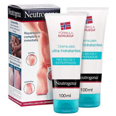 Neutrogena Crema de Pies Secos y Agrietados, Ultra Hidratante