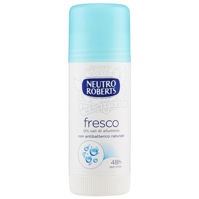 Roberts - Desodorante de barra, azul, 40 ml