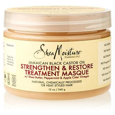SHEA MOISTURE STRENGTHEN & RESTORE TREATMENT