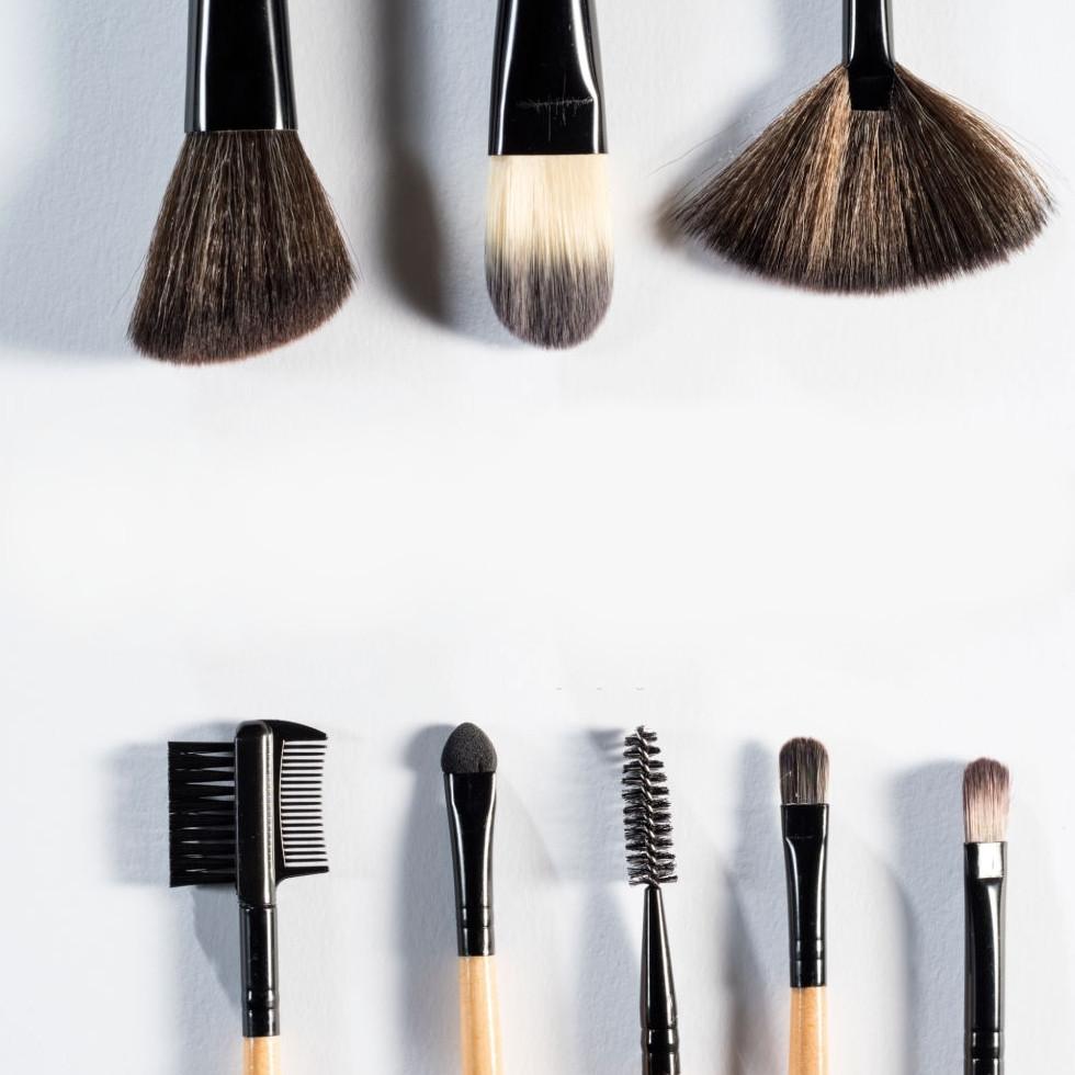 Tipoas de brochas de maquillaje