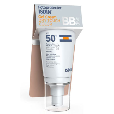 Fotoprotector ISDIN Gel Cream Dry Touch Color SPF 50+