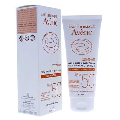 Leche Mineral SPF 50 + de Avêne